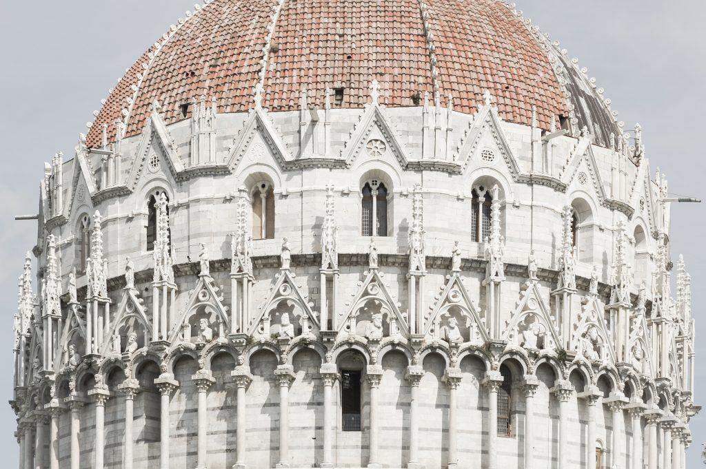 Pisa – Baptisterium Aussen