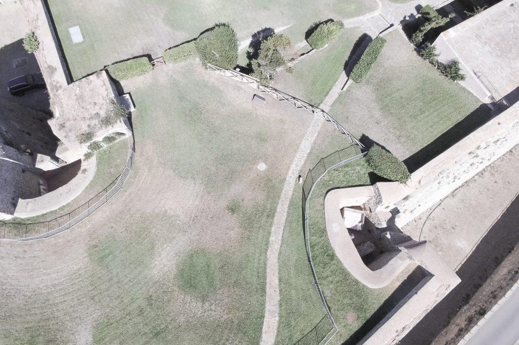 Forte Rocca – Luftaufnahmen