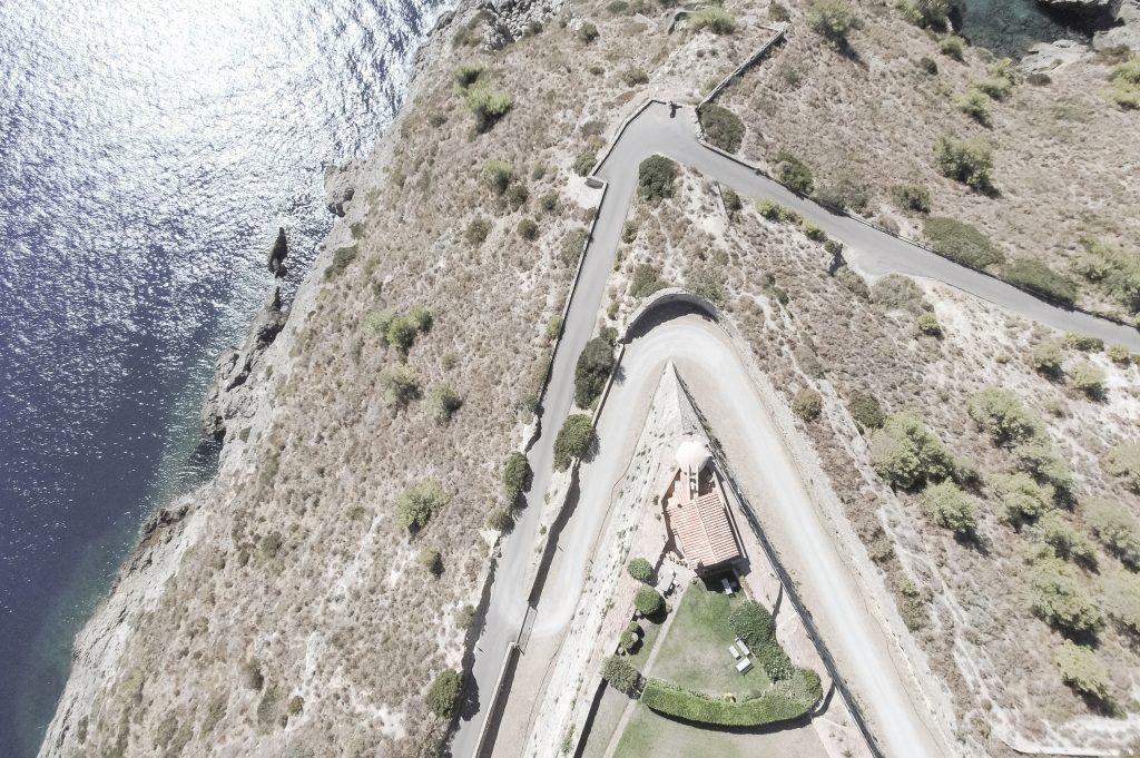 Forte Rocca – La Casa del Faro – Luftaufnahmen