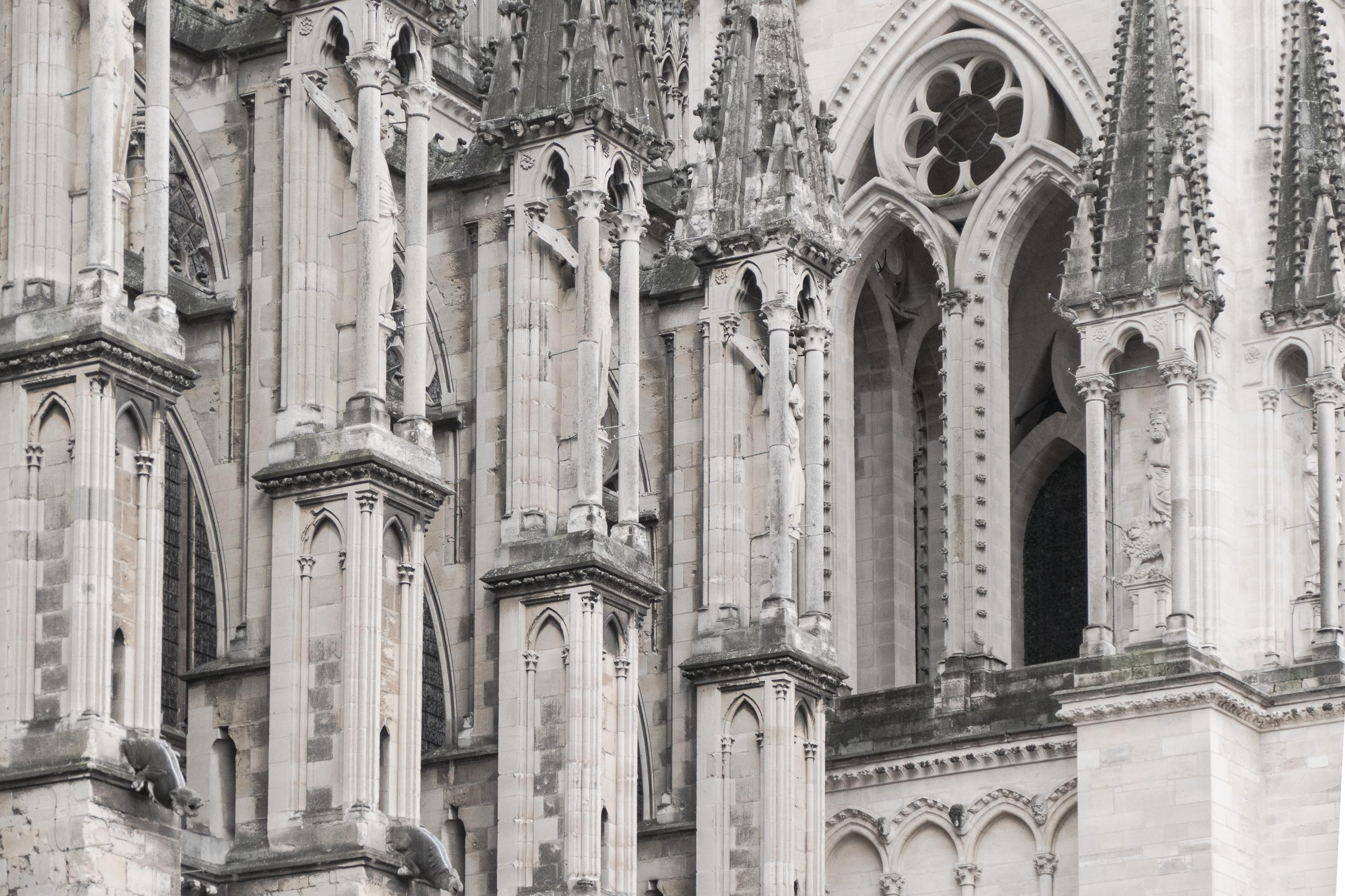 Kathedrale Notre-Dame von Reims – aussen
