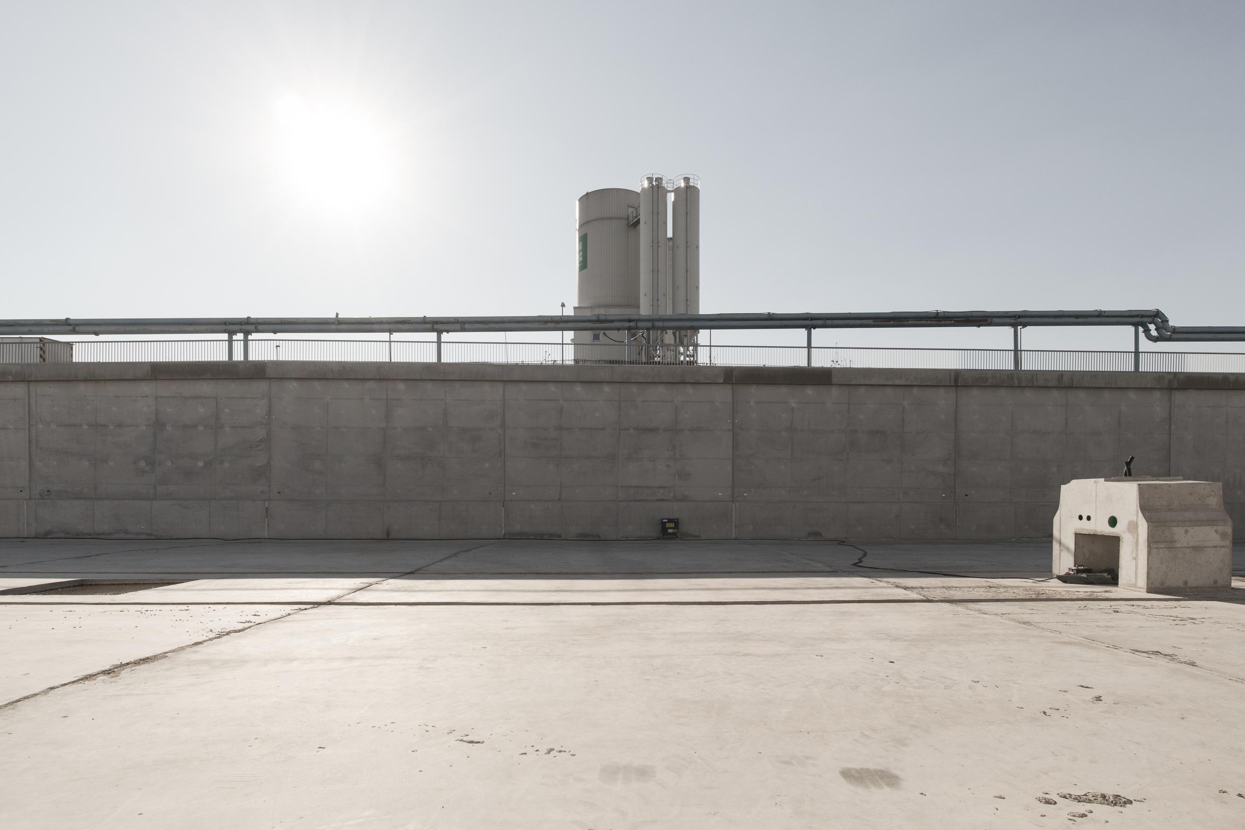 Berlin – Autobahn A100 Baustelle